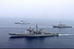 Ấn Độ, Mỹ tập trận ở Đông Ấn Độ Dương
