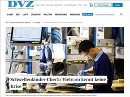 Báo Đức đánh giá cao triển vọng thị trường Việt Nam