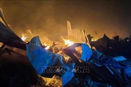 Lại cháy trại tị nạn ở Bangladesh, ít nhất 3 người thiệt mạng