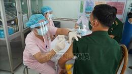 Tây Ninh: Tiêm vaccine COVID-19 cho lực lượng Biên phòng chống dịch ở biên giới