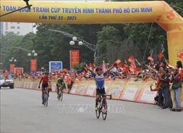Tay đua Phan Tuấn Vũ về nhất chặng Hà Nội - Thanh Hóa