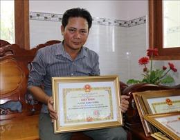 Anh Cao Ngọc Cường với 52 lần hiến máu tình nguyện