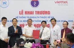 Khai trương Trung tâm Hội chẩn tư vấn, khám chữa bệnh từ xa tại TP Hồ Chí Minh