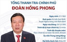Tổng Thanh tra Chính phủ Đoàn Hồng Phong