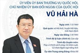 Chủ nhiệm Ủy ban Đối ngoại của Quốc hội Vũ Hải Hà