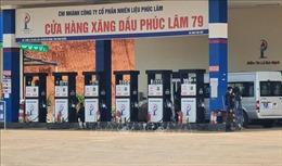 Tiếp tục phong tỏa một cửa hàng xăng dầu trên Quốc lộ 14 tại Bình Phước