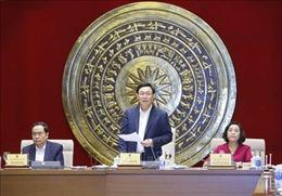 Chủ tịch Quốc hội Vương Đình Huệ: Chuẩn bị cho bầu cử, khối lượng công việc của Ban Công tác đại biểu rất lớn