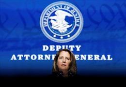 Thượng viện Mỹ thông qua đề cử Thứ trưởng Bộ Tư pháp Lisa Monaco