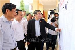 Kiểm tra công tác chuẩn bị bầu cử tại Yên Bái