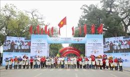 Ngày chạy Olympic 'Vì sức khỏe toàn dân' và phát động Giải chạy Báo Hà nội mới mở rộng lần thứ 47