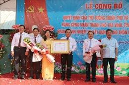 Thành phố Trà Vinh hoàn thành xây dựng nông thôn mới