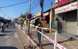 Đồng Nai: Phong tỏa 1 khu phố do liên quan ca mắc COVID-19 về từ Đà Nẵng