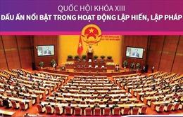 Quốc hội khóa XIII: Dấu ấn nổi bật trong hoạt động lập hiến, lập pháp