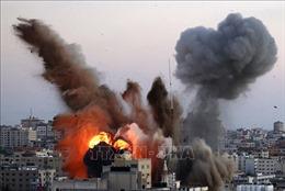 Israel không kích dữ dội thành phố Gaza