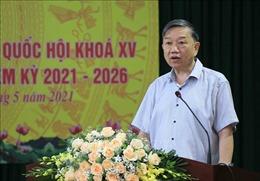 Các ứng cử viên tại Hưng Yên tiếp xúc cử tri, vận động bầu cử trực tuyến
