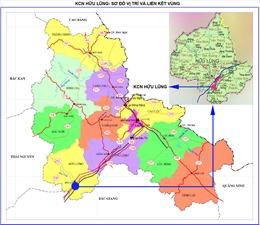 Lạng Sơn thông qua quy hoạch chung xây dựng Khu công nghiệp Hữu Lũng