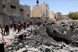 Cộng đồng quốc tế hối thúc Israel - Palestine ngừng bắn