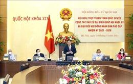 Hội đồng Bầu cử Quốc gia nêu những nhiệm vụ trọng tâm để thực hiện thắng lợi cuộc bầu cử