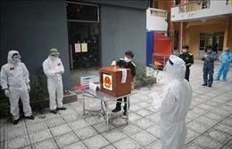 Công tác bầu cử ở 'tâm dịch' Bắc Giang diễn ra thuận lợi, an toàn