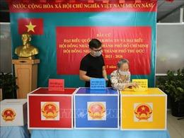 Hơn 46% cử tri TP Hồ Chí Minh đã đi bỏ phiếu