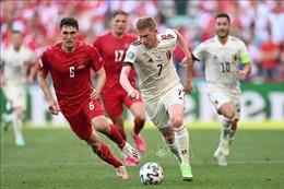 EURO 2020: De Bruyne tỏa sáng giúp Bỉ vượt qua Đan Mạch