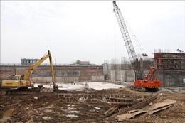 Ninh Bình: Gấp rút thi công các công trình phòng, chống lụt bão