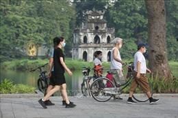 Hà Nội ngày đầu tiên mở lại hoạt động thể dục, thể thao ngoài trời