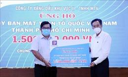 TP Hồ Chí Minh tiếp nhận hơn 859 tỷ đồng ủng hộ phòng, chống dịch