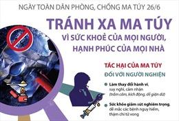 Ngày toàn dân phòng, chống ma túy 26/6/2021: Tránh xa ma túy