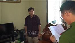 Khởi tố bị can, bắt tạm giam Trưởng phòng Dân tộc UBND huyện Trùng Khánh