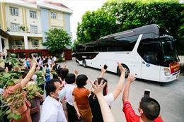 Đoàn cán bộ y tế tỉnh Hoà Bình lên đường hỗ trợ TP Hồ Chí Minh chống dịch