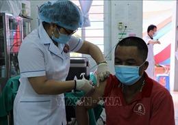 Tiêm vaccine phòng COVID-19 cho người dân khu vực biên giới