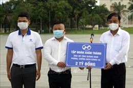 Chuyến xe nghĩa tình đưa công dân Quảng Nam từ TP Hồ Chí Minh về quê hương