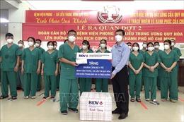 Bình Định tăng cường thêm 22 y, bác sĩ hỗ trợ TP Hồ Chí Minh