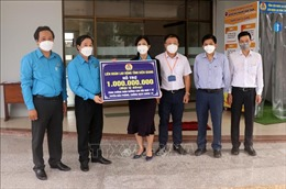 Kiên Giang: Hỗ trợ cán bộ y tế tuyến đầu chống dịch COVID-19