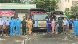 Bình Phước hỗ trợ TP Hồ Chí Minh hơn 7.000 túi an sinh