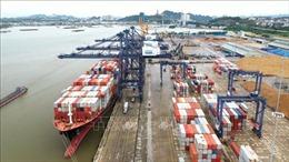 Hãng tàu vận tải container lớn nhất thế giới cập cảng Cái Lân - Quảng Ninh
