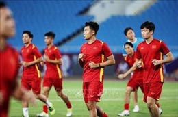 Đội tuyển bóng đá Việt Nam trở lại sân tập