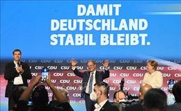 Bầu cử Quốc hội Đức: CDU/CSU và SPD cạnh tranh để lập liên minh cầm quyền