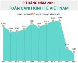 Toàn cảnh kinh tế Việt Nam 9 tháng năm 2021