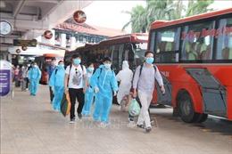 Yên Bái: Đón 490 người dân từ miền Nam trở về quê