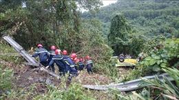Xe khách rơi xuống vực ở đèo Hải Vân là xe chở sinh viên ở Kiên Giang đi thực tập