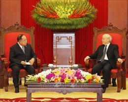 Tổng Bí thư, Chủ tịch nước tiếp Phó Thủ tướng, Bộ trưởng Quốc phòng Thái Lan