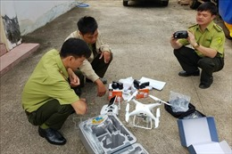 Thiết bị bay giám sát đàn voi rừng ở Đồng Nai