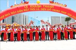 Khánh thành cụm nhà máy điện mặt trời và tổ hợp năng lượng tái tạo lớn nhất Đông Nam Á