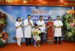 Bệnh viện Sản - Nhi Hưng Yên lần đầu đón em bé thụ tinh trong ống nghiệm ra đời