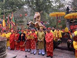 Lễ hội đền Sóc với nhiều nghi thức tưởng nhớ Thánh Gióng