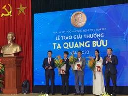 Trao Giải thưởng Tạ Quang Bửu 2020 cho ba nhà khoa học
