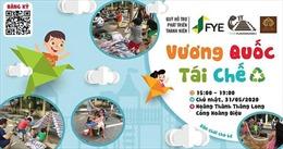 'Vương quốc tái chế' tạo sân chơi dành cho trẻ em