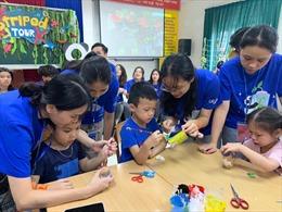 Một 'mùa hè xanh' cho trẻ em khuyết tật